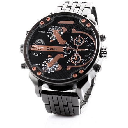 Military Army Dual Time Men's Watch
