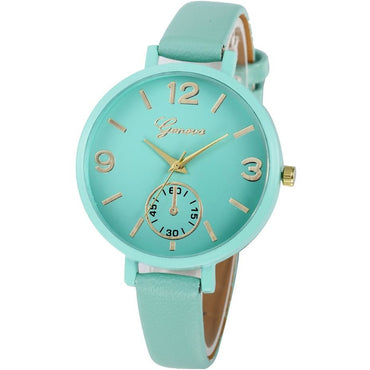 Lady blue classic watch - Theblingmarket