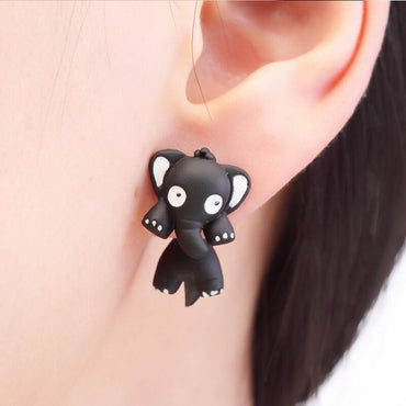 Cute Elephant Earring Stud