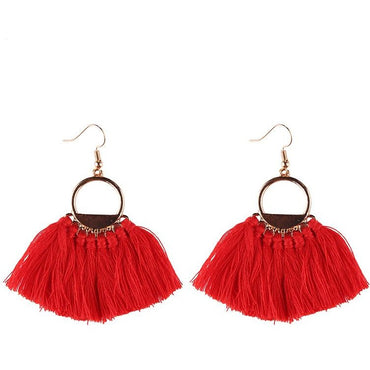 Yolanda Fringe Earrings - Theblingmarket