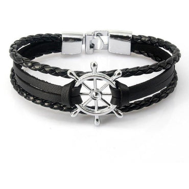 Leather Rudder Bracelet - Theblingmarket