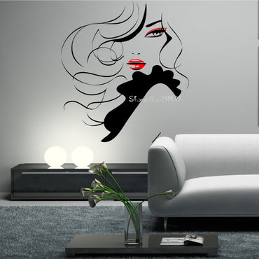 Sexy Girl Wall Decal - Theblingmarket