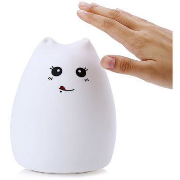Silicone Cat Led Lamp - Theblingmarket
