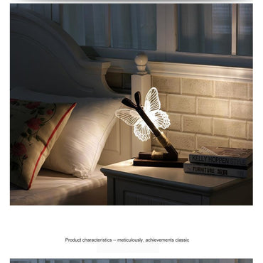 LED Butterfly Night Lamp - Theblingmarket