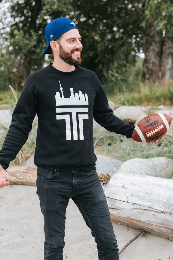 Toronto 'T' Sweatshirt (Unisex) - Ole Originals Clothing Co.