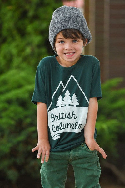 Boys British Columbia T-shirt - Ole Originals Clothing Co.