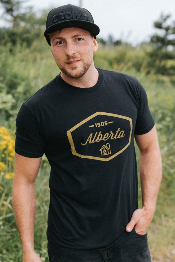 Alberta 1905 T-shirt - Ole Originals Clothing Co.