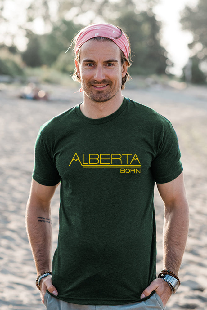 Alberta Born T-shirt - Ole Originals Clothing Co.