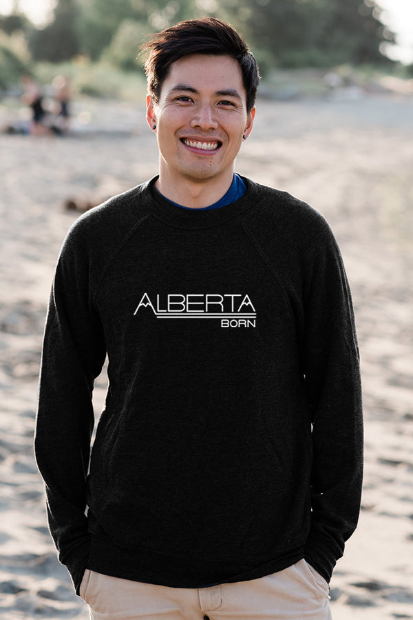 Alberta Born Sweatshirt (Unisex) - Ole Originals Clothing Co.