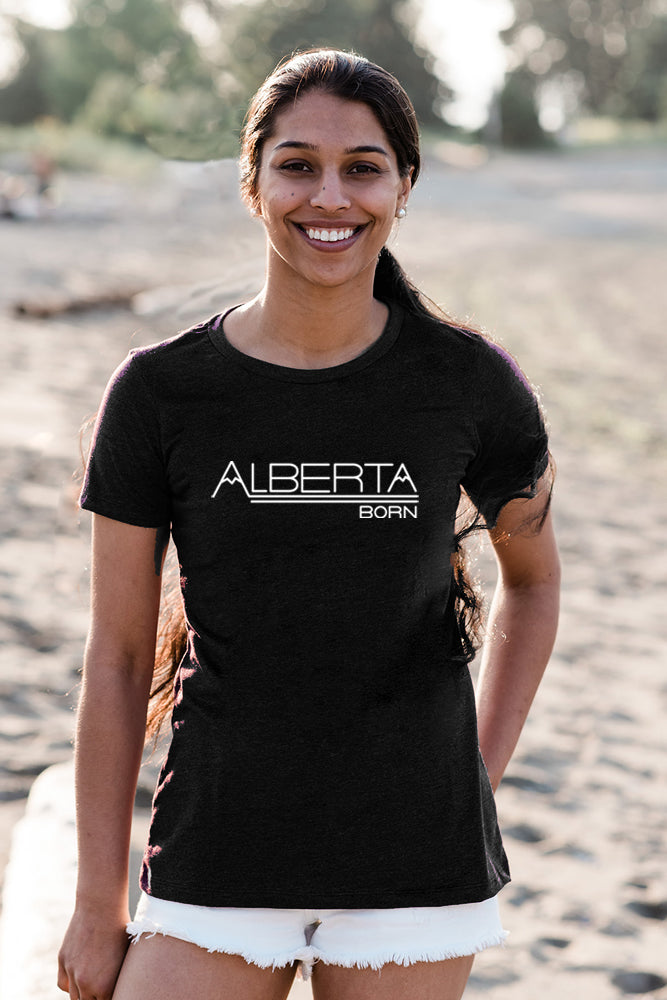 Alberta Born T-shirt - Womens - Ole Originals Clothing Co.