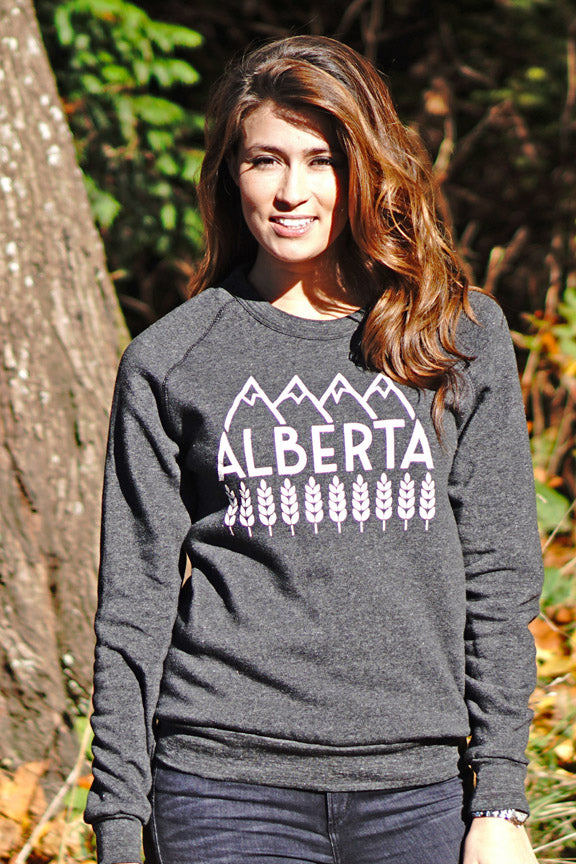 Explore Alberta Sweatshirt (Unisex) - Ole Originals Clothing Co.