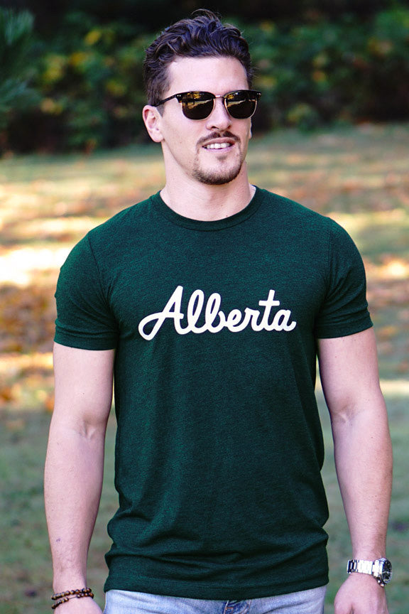 Alberta Classic T-shirt - Ole Originals Clothing Co.