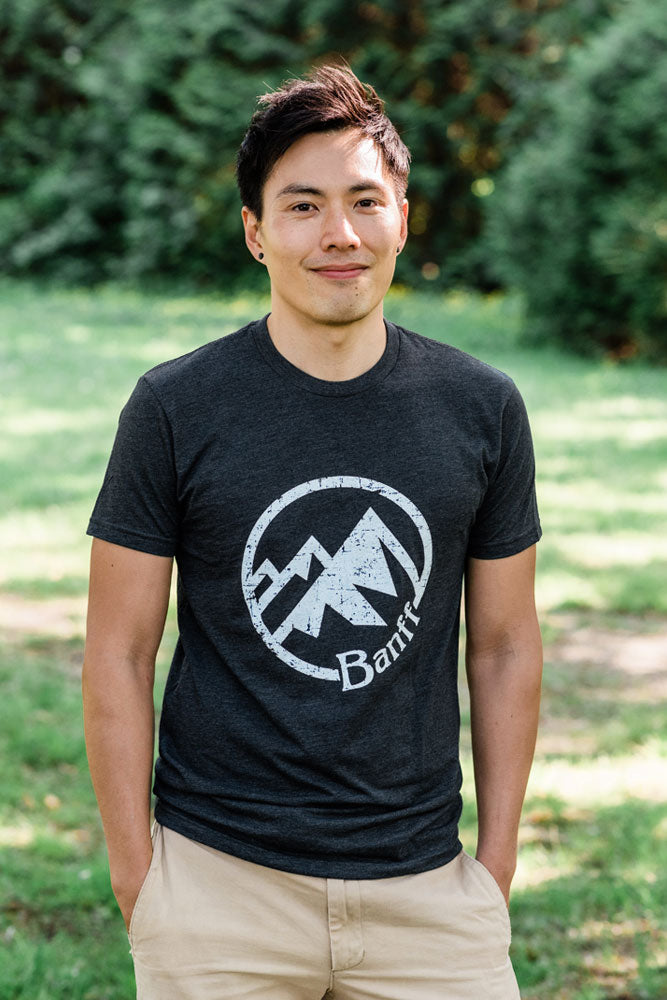 Banff Mountain T-shirt - Ole Originals Clothing Co.