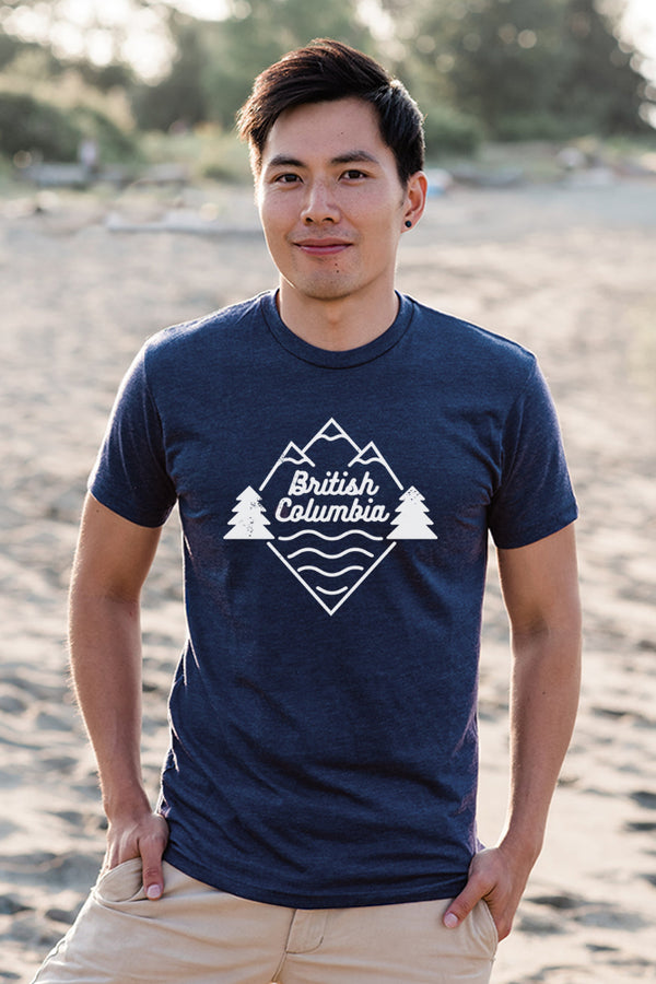 Beautiful British Columbia T-shirt - Ole Originals Clothing Co.