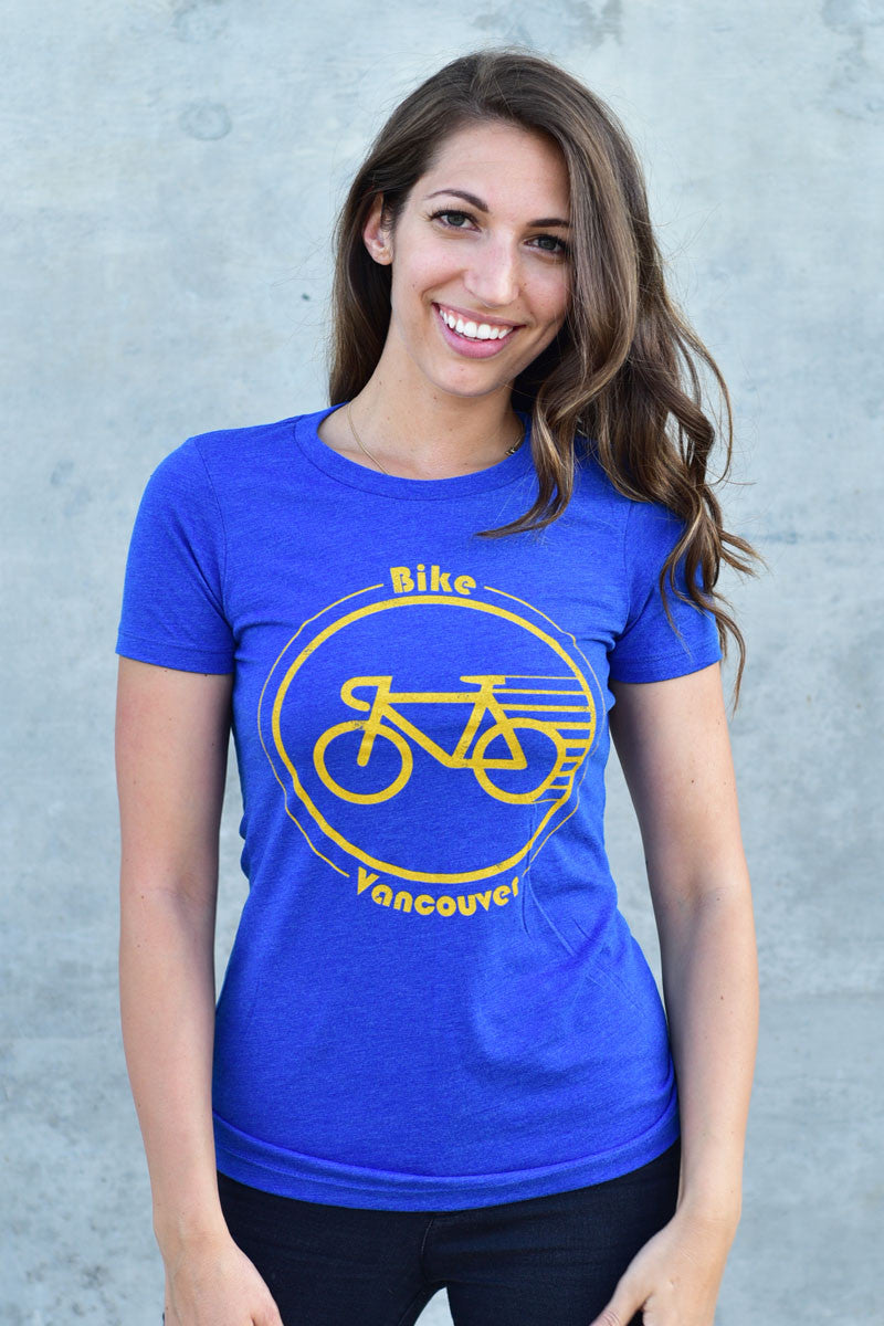 Bike Vancouver T-shirt - Womens - Ole Originals Clothing Co.