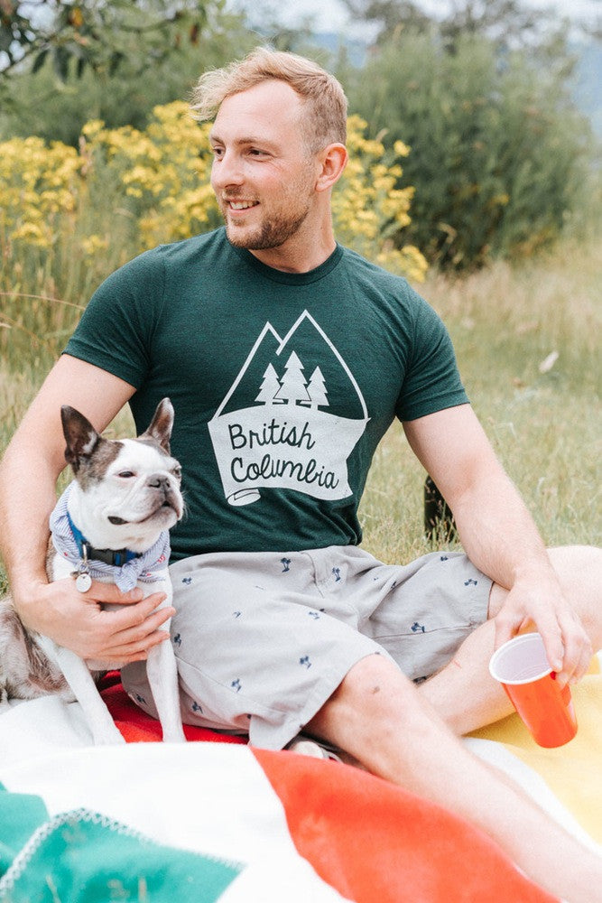British Columbia T-shirt - Ole Originals Clothing Co.