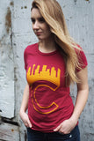 Calgary 'C' T-shirt - Womens - Ole Originals Clothing Co.