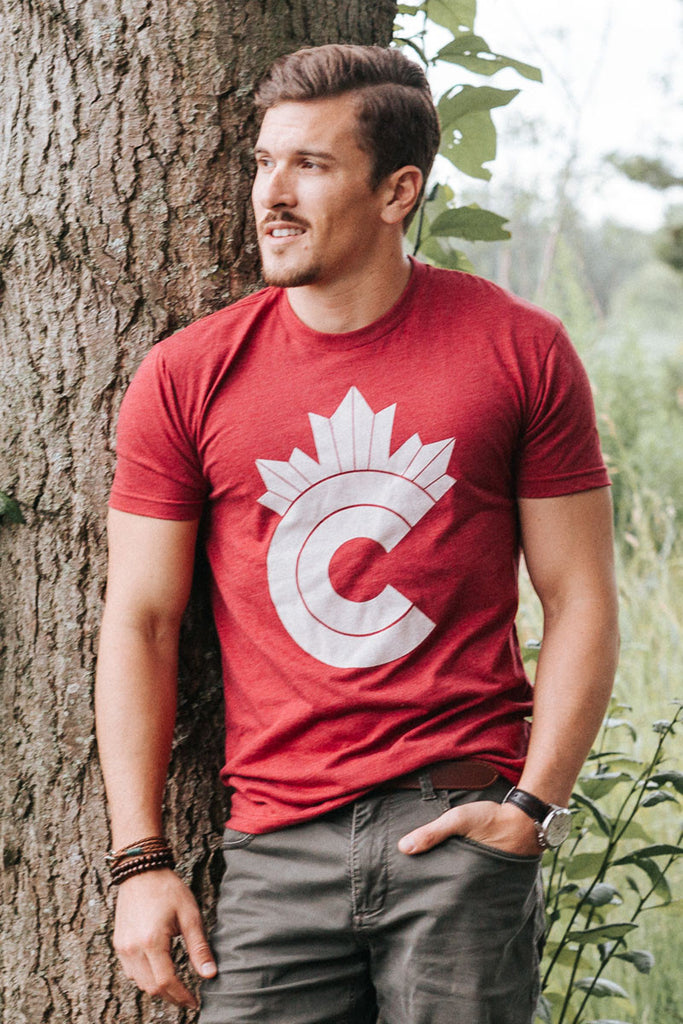 Retro Canadian T-shirt - Ole Originals Clothing Co.