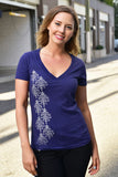 DAMASK T-SHIRT - WOMENS - Ole Originals Clothing Co.
