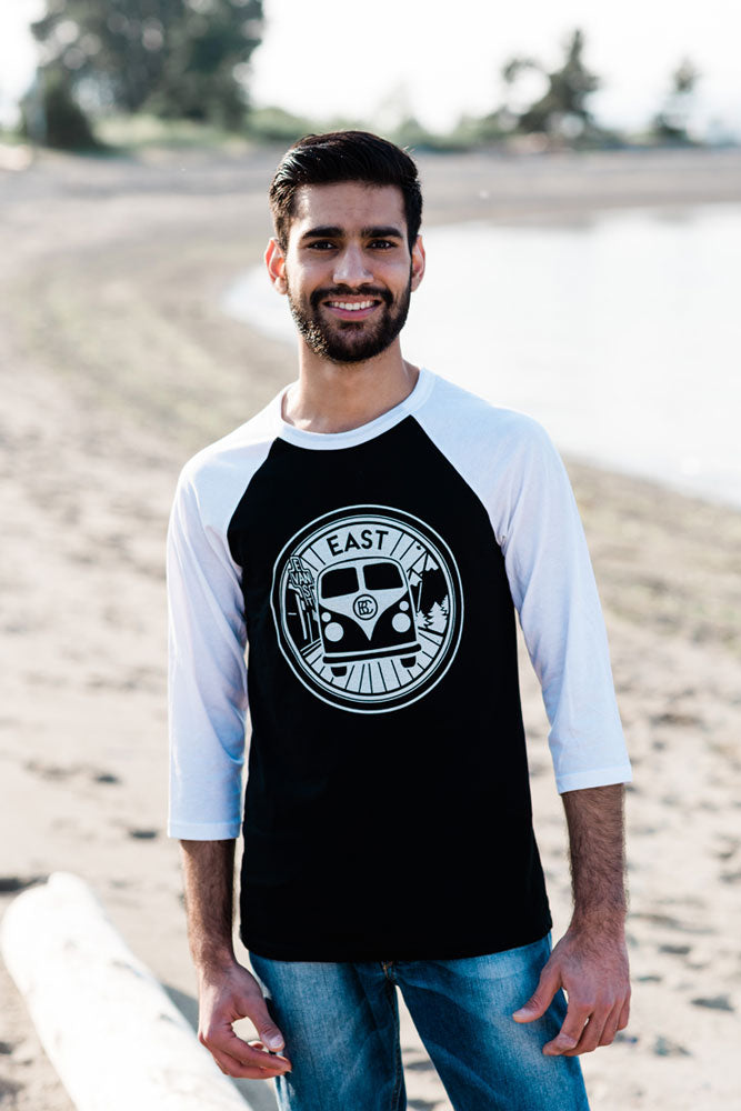 East Van Van Baseball Shirt (Unisex) - Ole Originals Clothing Co.