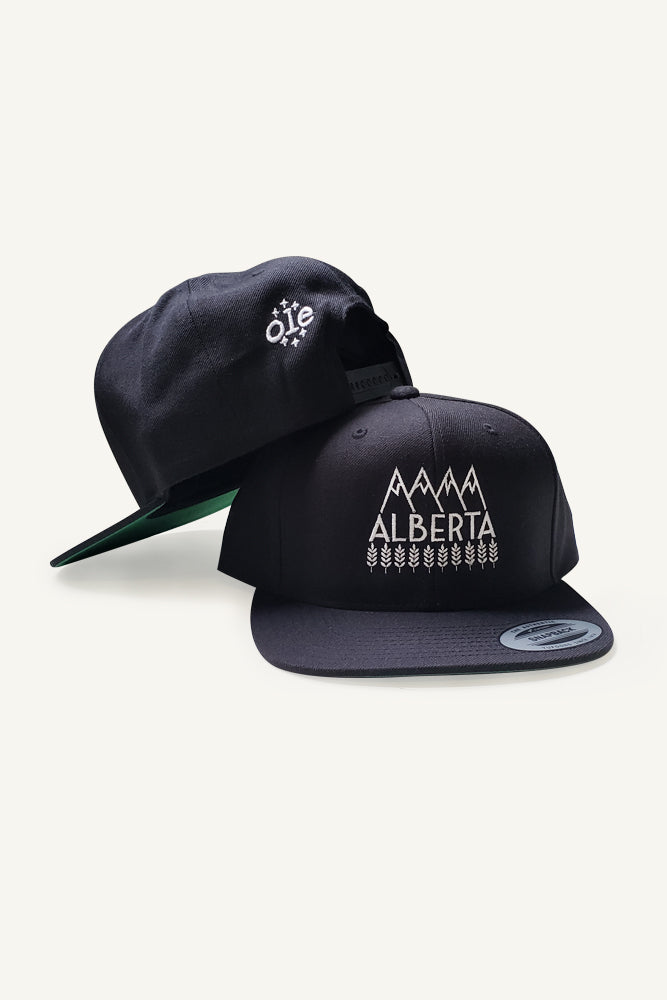 Explore Alberta Snapback Cap - Ole Originals Clothing Co.