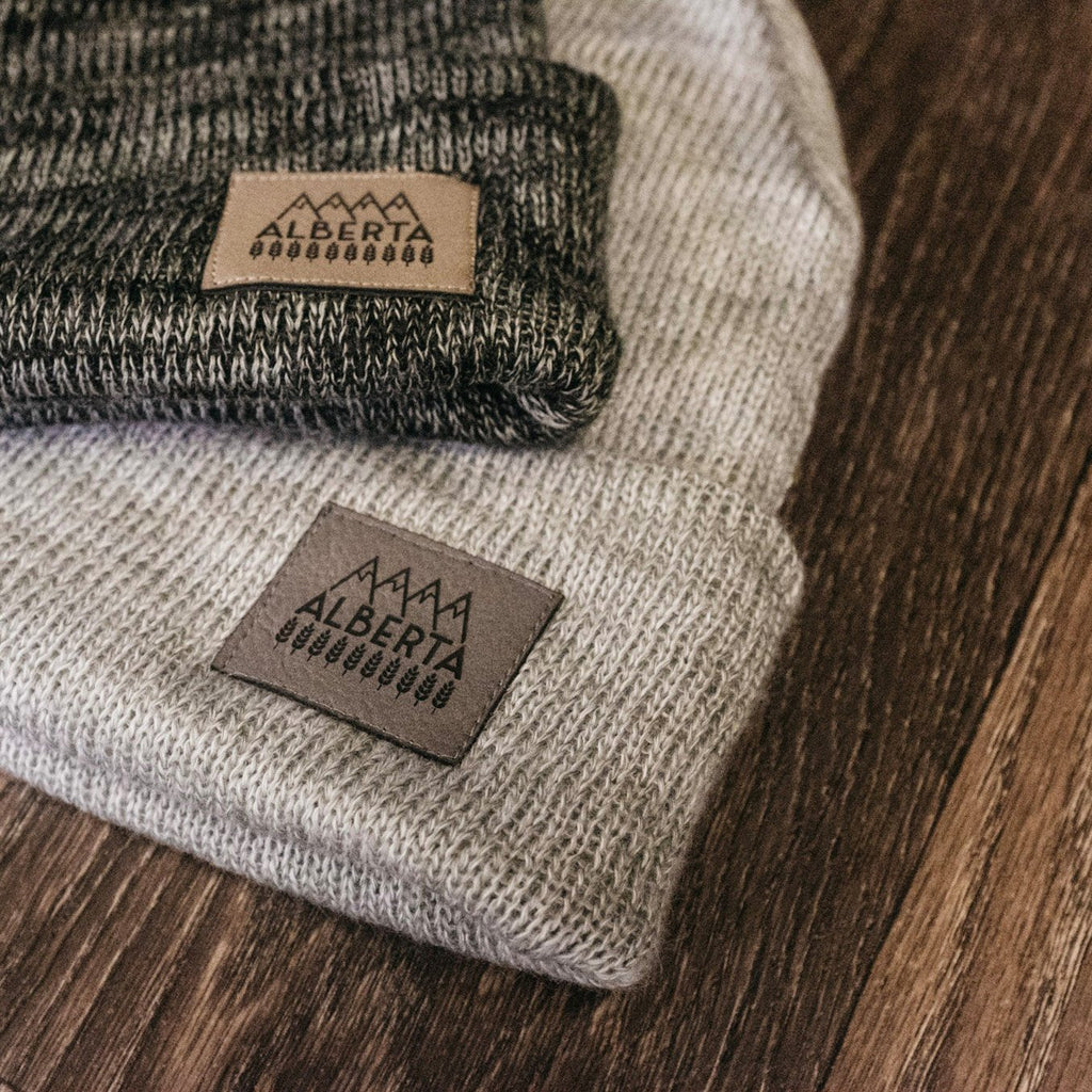 Explore Alberta Fine Knit Toque - Ole Originals Clothing Co.