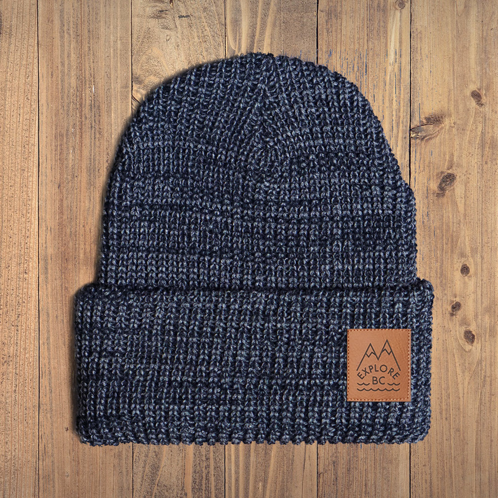 Explore BC Chunky Knit Youth Toque - Ole Originals Clothing Co.