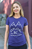 Explore BC T-Shirt - Womens - Ole Originals Clothing Co.