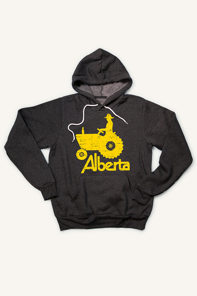 Alberta Tractor Hoodie (Unisex) - Ole Originals Clothing Co.