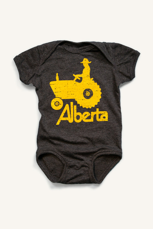 Alberta Tractor Onesie - Ole Originals Clothing Co.