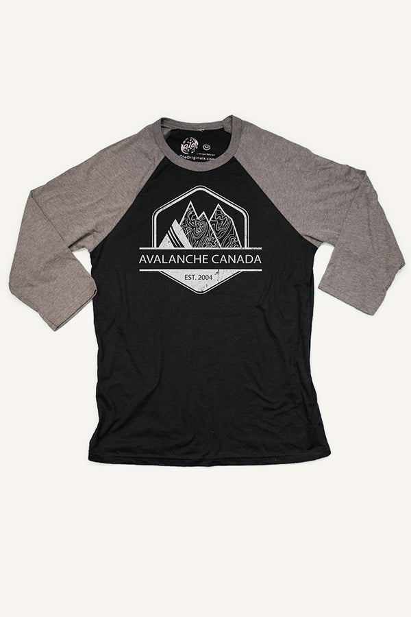Avalanche Canada Baseball Shirt (Unisex) - Ole Originals Clothing Co.