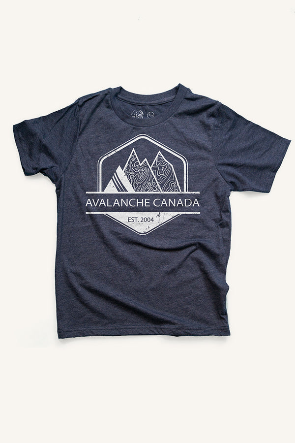 Boys Avalanche Canada T-shirt - Ole Originals Clothing Co.