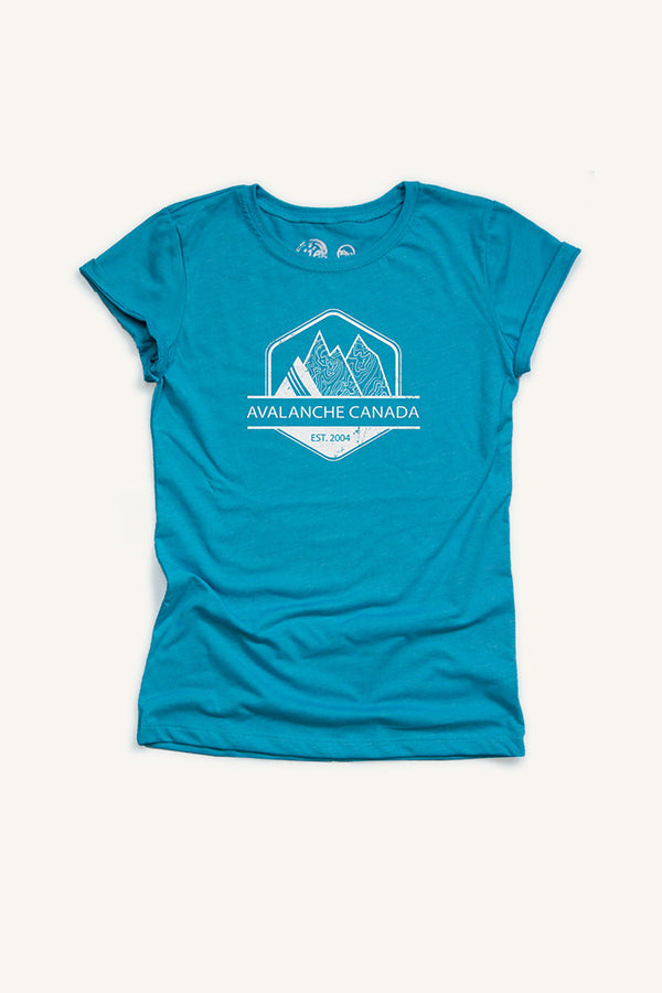 Girls Avalanche Canada T-shirt - Ole Originals Clothing Co.