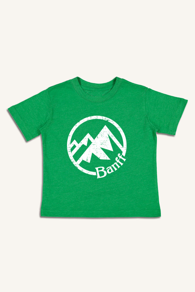 Lil' Ole Banff Mountain T-shirt - Ole Originals Clothing Co.
