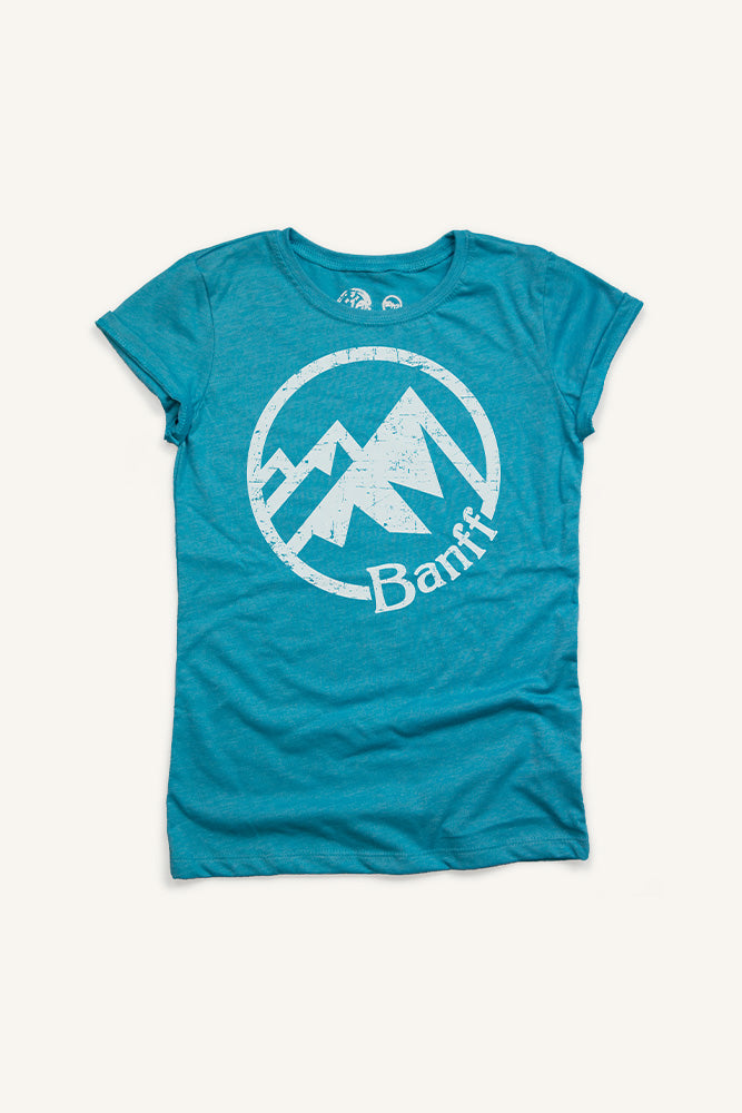 Girls Banff Mountain T-shirt - Ole Originals Clothing Co.