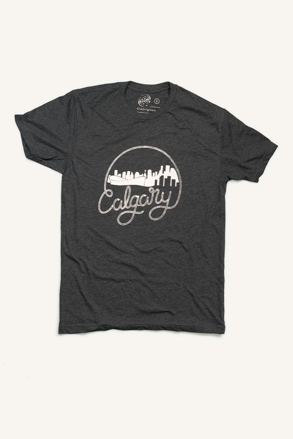 Calgary Rope T-shirt - Ole Originals Clothing Co.