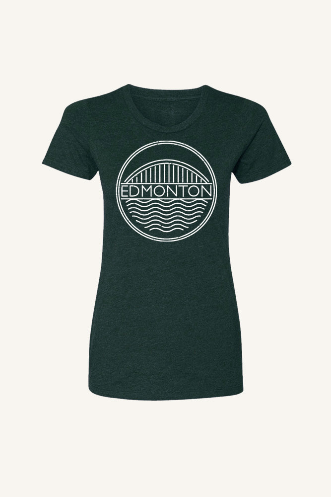 Edmonton T-shirt - Womens - Ole Originals Clothing Co.