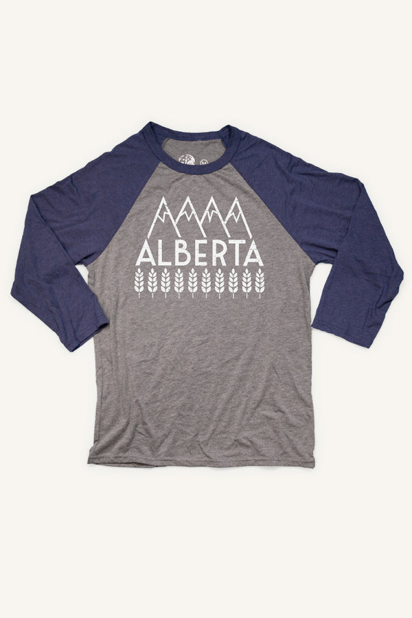 Explore Alberta Baseball Shirt (Unisex) - Ole Originals Clothing Co.