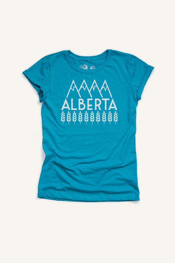 Girls Explore Alberta T-shirt - Ole Originals Clothing Co.