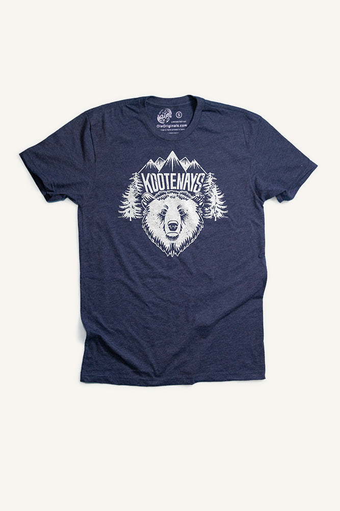 Kootenays Bear T-Shirt - Ole Originals Clothing Co.