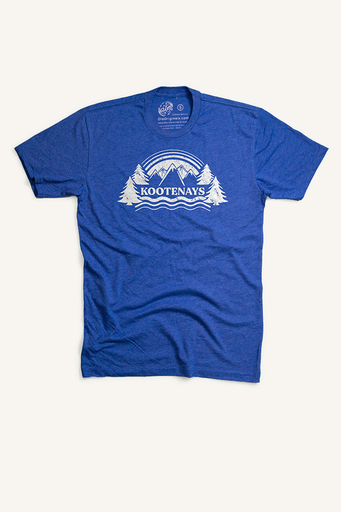Kootenays T-Shirt - Ole Originals Clothing Co.