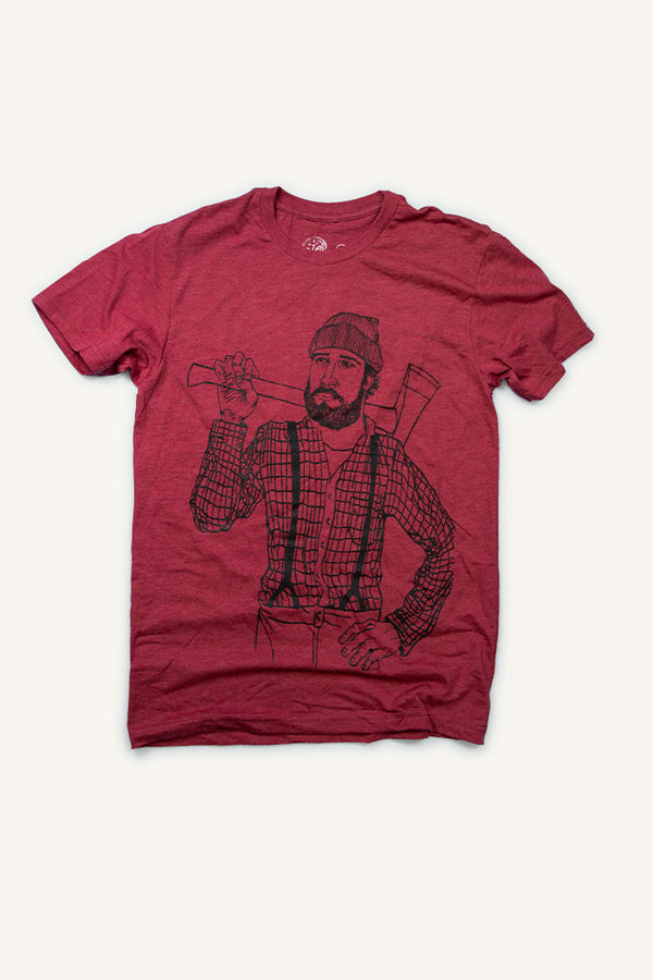 Lumberjack T-shirt - Ole Originals Clothing Co.