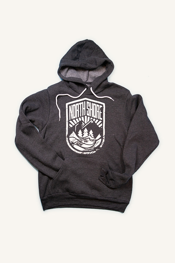North Shore Crest Hoodie (Unisex) - Ole Originals Clothing Co.