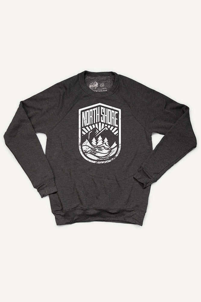 North Shore Crest Sweatshirt (Unisex) - Ole Originals Clothing Co.