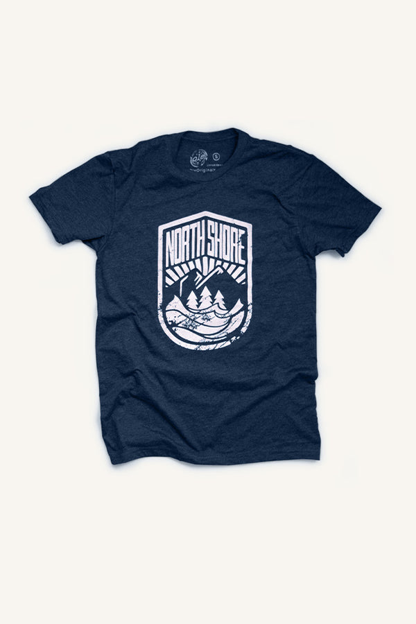 North Shore Crest - T-shirt - Ole Originals Clothing Co.