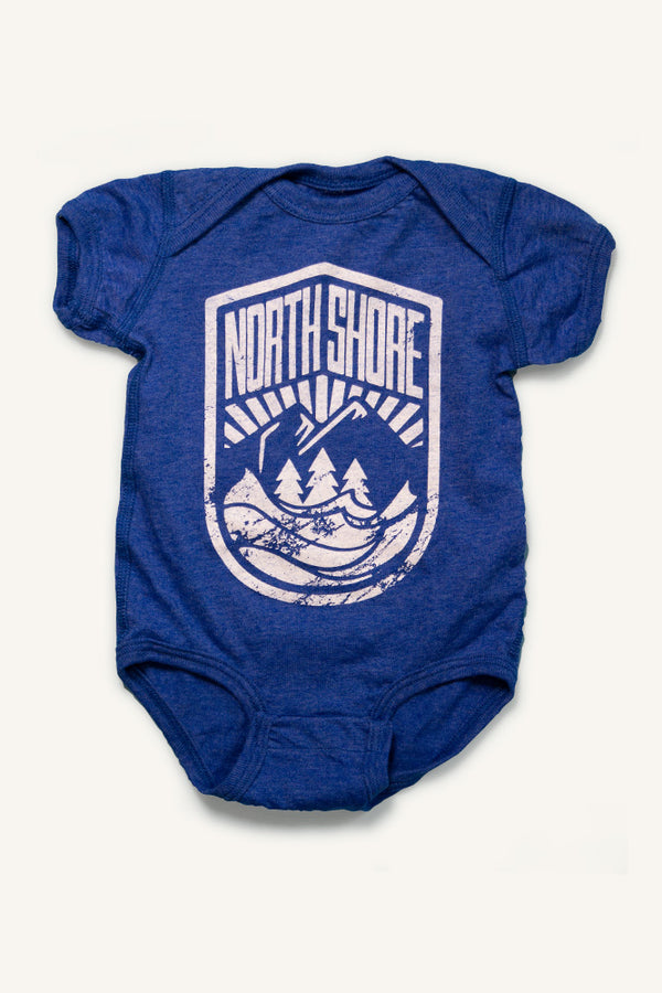North Shore Crest - Onesie - Ole Originals Clothing Co.
