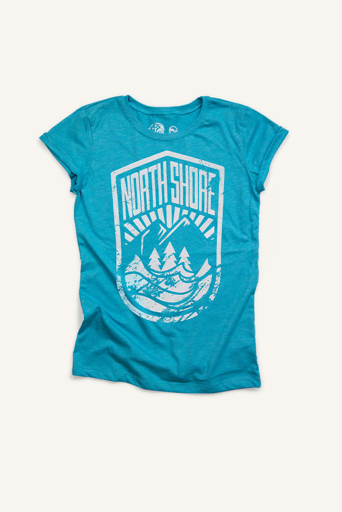 North Shore Crest - T-shirt - Girls - Ole Originals Clothing Co.