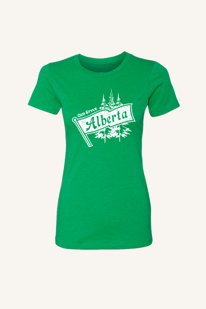 Old Style Alberta T-shirt - Womens - Ole Originals Clothing Co.