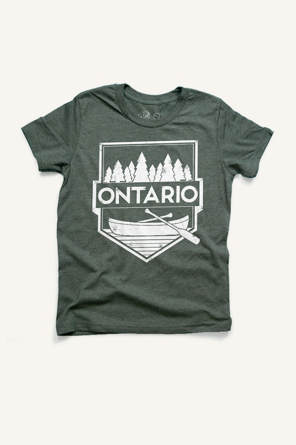 Boys Ontario T-shirt - Ole Originals Clothing Co.