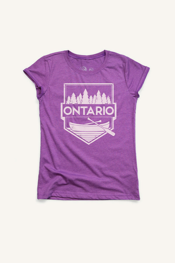 Girls Ontario T-shirt - Ole Originals Clothing Co.